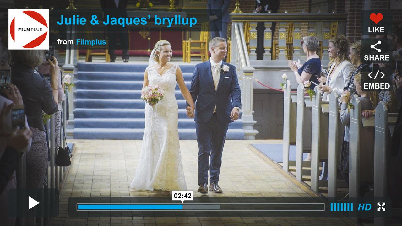 Bryllupsvideo